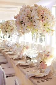 wedding table flower decorations ideas marvelous wedding table