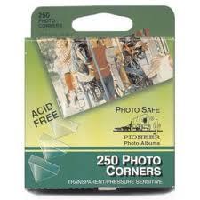 Photo Album Corners Amazon Com Pioneer Photo Corners Self Adhesive Clear 250 Pack