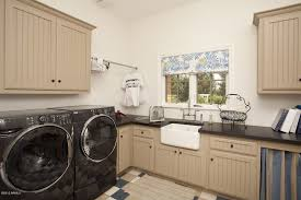 Undermount Cast Iron Kitchen Sink by Cottage Laundry Room With Farmhouse Sink In Scottsdale Az