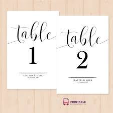 design templates print free wedding printables table numbers printable pdf template wedding invitation