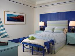 cobalt blue bedroom cobalt blue bedroom bedroom beach style with stripe rug