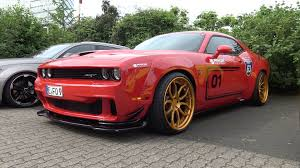 widebody muscle cars now you can get a dodge hellcat in widebody form chapman las