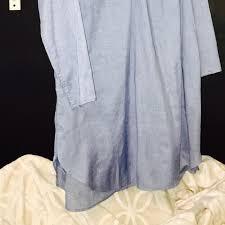 91 off joan vass dresses u0026 skirts sale joan vass chambray