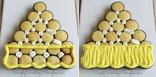 candy corn cupcake cake simplysweetsbyhoneybee com