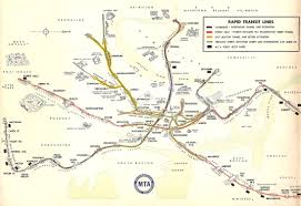 Mbta Map Subway by Boston Mbta System Track Map A Complete And Geographically
