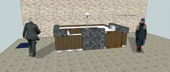 Marble Reception Desk Arnold Reception Desks Inc Concept Drawings