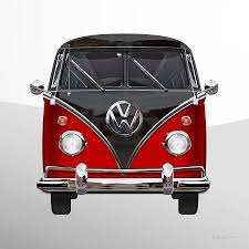volkswagen black volkswagen type 2 red and black volkswagen t 1 samba bus on