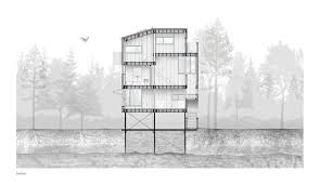 architecture canada green architecture cottage house on stilts