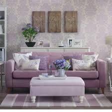 Living Room With Purple Sofa Living Room With Purple Sofa