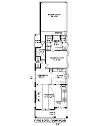 narrow house plans with garage narrow house plans cottage house plans