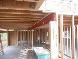 haley residence framing progress in evergreen colorado u2014 evstudio
