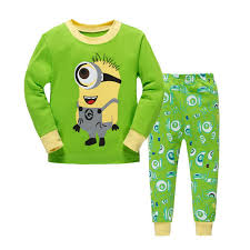aliexpress buy autumn boys minions 2 pajama