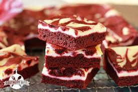 red velvet cheesecake brownies perfect for your valentine