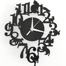 creative clocks aliexpress com buy creative mordern diy geometric wall clocks