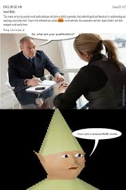 Business Kid Meme - they say the little elf kid got hired on the spot and brought