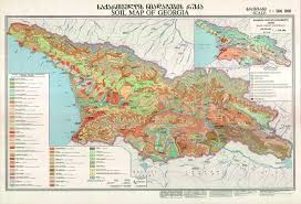 south ossetia map map of highlighting abkhazia green and south ossetia