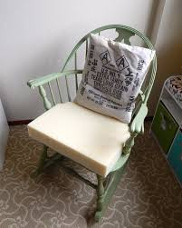 Padding For Rocking Chair Quick Cushions For A Vintage Rocking Chair Fresh Frippery