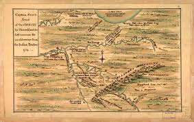 Map Of Southwest Virginia by Fry And Jefferson Revisited The Mesda Journal