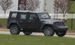 jeep icon concept 2018 jeep wrangler spy photos u2013 news u2013 car and driver