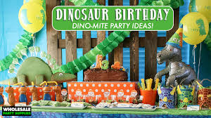 party supply wholesale dinosaur birthday party party ideas activities by wholesale