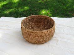 4 variety pine needle basket bases centers by exoticwoodjewelryand