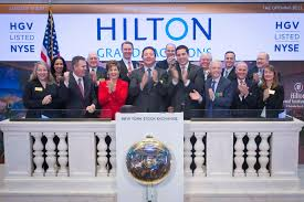 rings bell images Hilton grand vacations rings opening bell at new york stock jpg