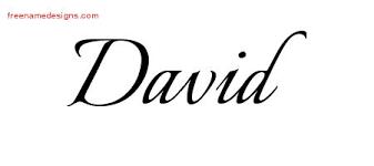 calligraphic name designs david free graphic free name designs