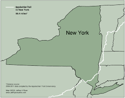 New York Appalachian Trail Map by Appalachian Trail In New York 1 Jpg