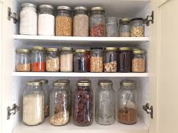 using mason jars in the kitchen organization youtube