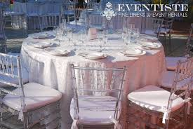 clear chiavari chairs clear chiavari chairs silver vine scroll overlay linens table set