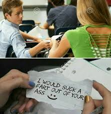 Meme Notes - passing love notes in class