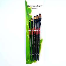 flat royal art paint brush set art u0026 craft online store