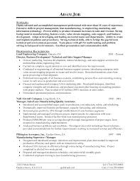 Sample Resume For Finance Manager by Sample Resume Of General Manager Finance Templates