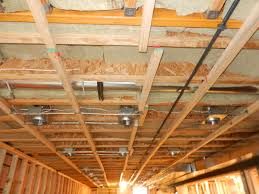homely ideas insulate basement ceiling for sound djearls build