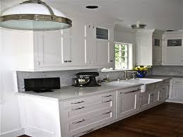 Shaker Kitchen Cabinet by Kitchen Amazing White Shaker Kitchen Cabinets With Green Ceramic