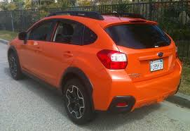 red subaru crosstrek carnichiwa 2013 subaru xv crosstrek review u2013 new model is built