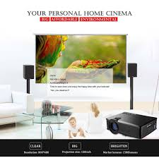 laptop to home theater amazon com weiliante hd mini video projector 1500 lumens home