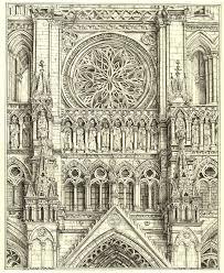 Amiens Cathedral Floor Plan Richard Britell Image Text