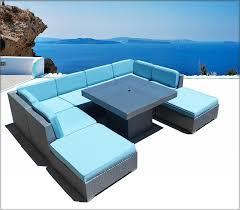 Bellagio Patio Furniture Bellagio 9 Piece Outdoor Wicker Sectional Sofa Set Las Vegas Patio