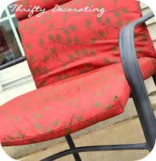 Refinish Metal Patio Furniture - thrifty decorating spraypainted patio furniture redo