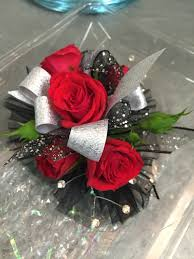 Red Rose Wrist Corsage Listen To Your Heart Wrist Corsage A Better Bloom Florist