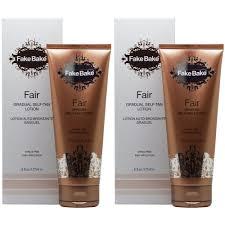amazon com fake bake fair lotion 6 ounce self tanning