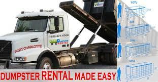 Car Rentals In Port Charlotte Fl Port Charlotte Florida Best Rolloff Dumpster Cost