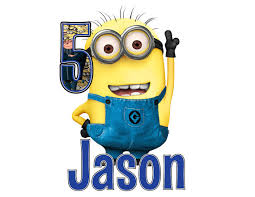 personalized despicable me minions birthday number age kids shirts