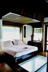 le meridien bora bora overwater bungalow interior club delux