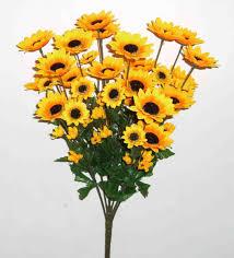 silk flowers bulk artificial sunflower flowers