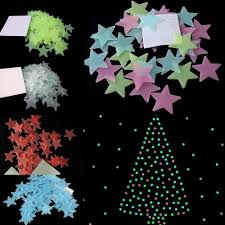 Home Decor Stars Glow In The Dark Home Decor Funlife Bird On The Branches Glowing