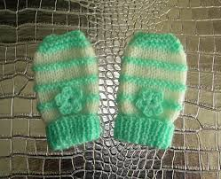 marianna u0027s lazy daisy days garter stitch ridge baby mittens