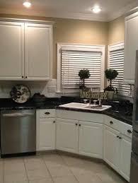 Kitchen Sink Cabinets Best 25 Corner Kitchen Sinks Ideas On Pinterest Kitchens With Sink