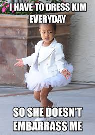 North West Meme - north west quoting kanye might be your new favorite meme